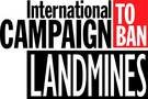 Logo International Campaign to Ban Landmines und Cluster Munition Coalition